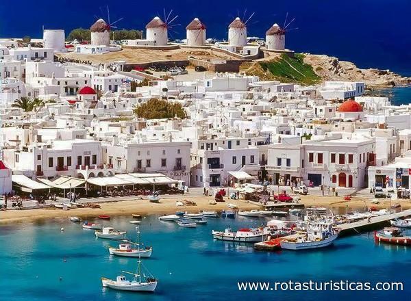 Voyage Mykonos : 7sjours pas chers Mykonos. Vacances pas